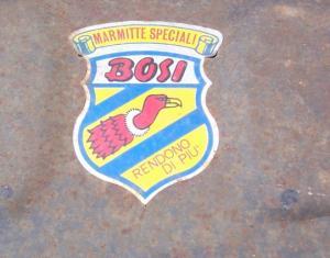 Bosi 4 Rohr Endtopf  für Innocenti Cooper B39. Preis 595 Euro.